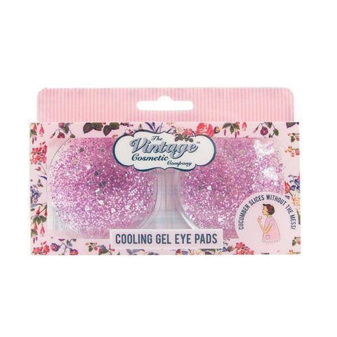 The Vintage Cosmetics Co. Cooling Gel Eye Pads Glitter