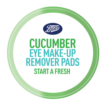 Boots Cucumber Free Eye Make-up Remover Pads 40