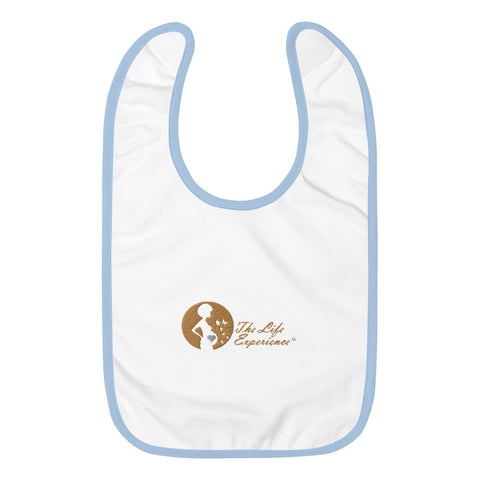 The Life Experience®  BABY BIB (Blue)