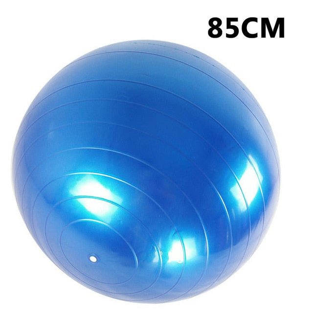 Balance Fitball Exercise with pump