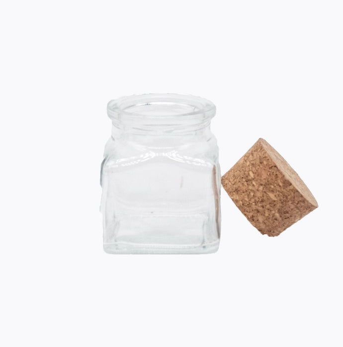 Spice Jar with Cork Lid