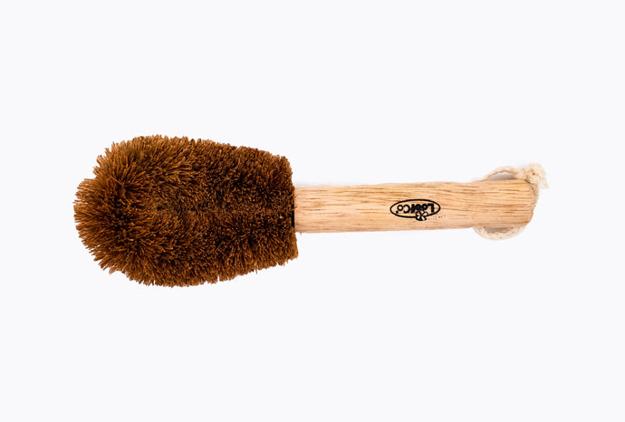 Loofco Coir Fibre Washing-Up Brush with Handle