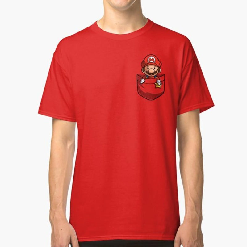 "POLO GAMER ""MARIO BROS"""