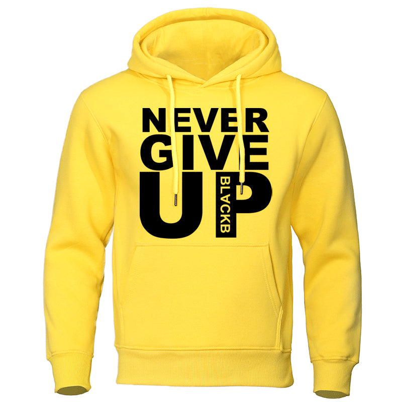 "Polera Casual ""Never Give Up"""