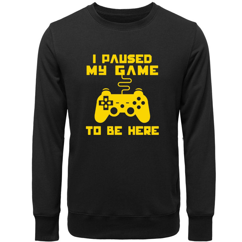 "Polera Gamer ""I PAUSED MY GAME TO BE HERE"""