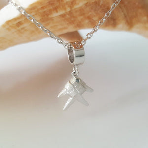 VoiVoi Ika Fish Charm Necklace in 925 Sterling Silver - FJD$ - Adorn Pacific - Fiji Jewelry
