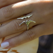 Load image into Gallery viewer, Frigate Bird Ring - 925 Sterling Silver or 18k Gold Vermeil FJD$ - Adorn Pacific - Fiji Jewelry - Made in Fiji