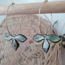 Load image into Gallery viewer, Made-to-order Fiji Shell Earrings - 925 Sterling Silver FJD$ - Adorn Pacific