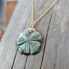 Load image into Gallery viewer, Fiji Mother of Pearl Hibiscus Necklace - 925 Sterling Silver or 18k Gold Vermeil FJD$ - Adorn Pacific