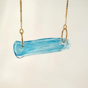 Adorn Pacific x Hot Glass Bar Necklace - FJD$ - Adorn Pacific - Fiji Jewelry