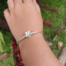 Load image into Gallery viewer, Frangipani Cuff  - 925 Sterling Silver FJD$