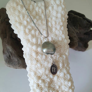 Fiji Pearl Necklace - 925 Sterling Silver FJD$ - Adorn Pacific - Fiji Jewelry