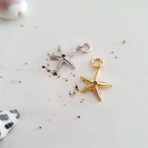 Starfish Charms - 925 Sterling Silver or 18k Gold Vermeil FJD$ - Adorn Pacific - Fiji Jewelry - Made in Fiji