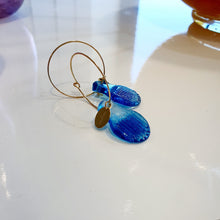 Load image into Gallery viewer, Adorn Pacific x Hot Glass Hoop Earrings 14k Gold Filled - FJD$ - Adorn Pacific - Fiji Jewelry