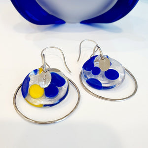 Adorn Pacific x Hot Glass Hoop Earrings - FJD$ - Adorn Pacific - Fiji Jewelry