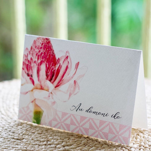 Greeting Cards by Island Inspired - ten designs to choose from - FJD$ - Adorn Pacific - Fiji Jewelry