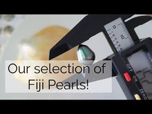 Load and play video in Gallery viewer, Fiji Saltwater Pearl Earrings - 14k Gold Filled FJD$