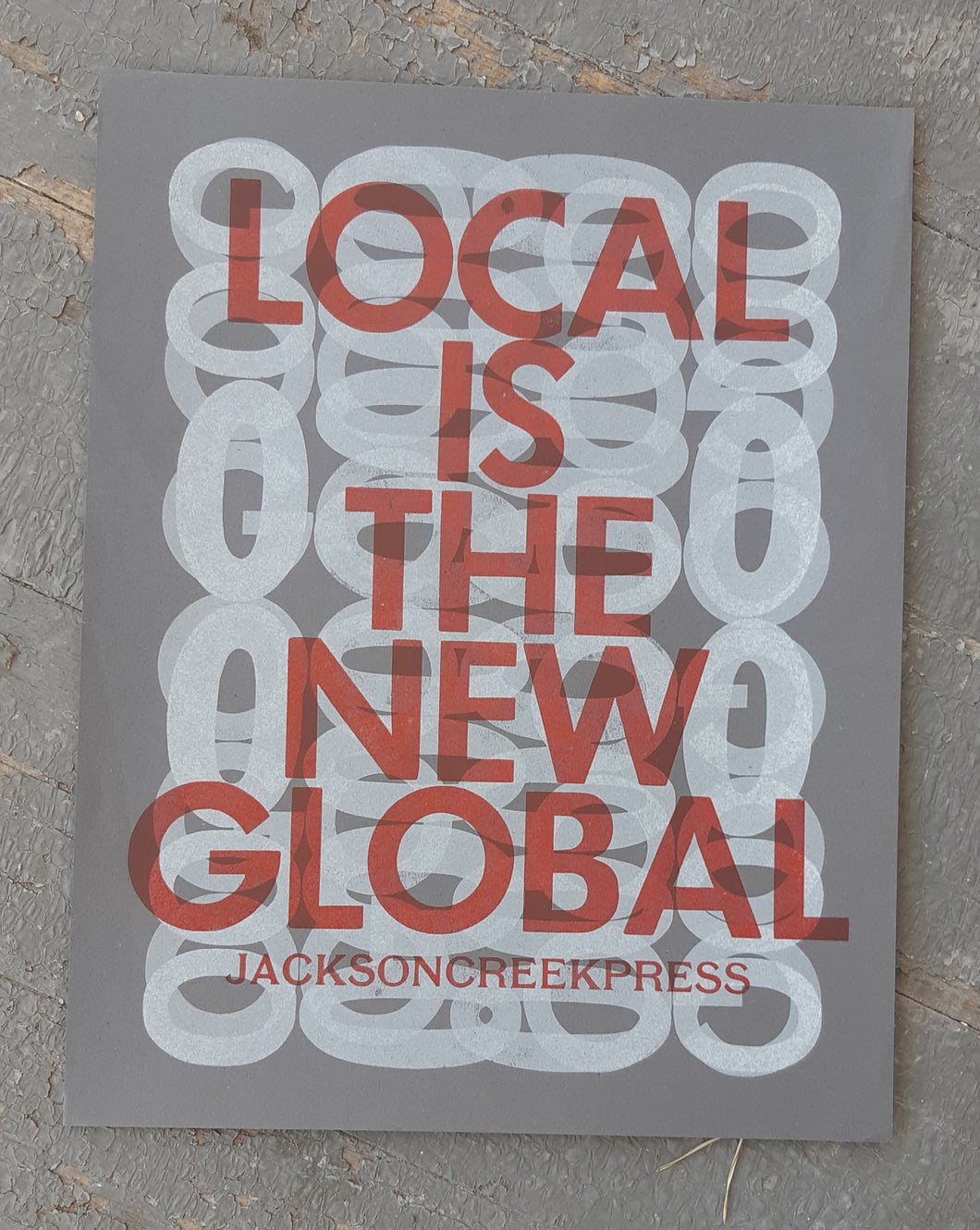 Local is the new global