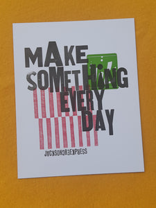 Make Something Every Day