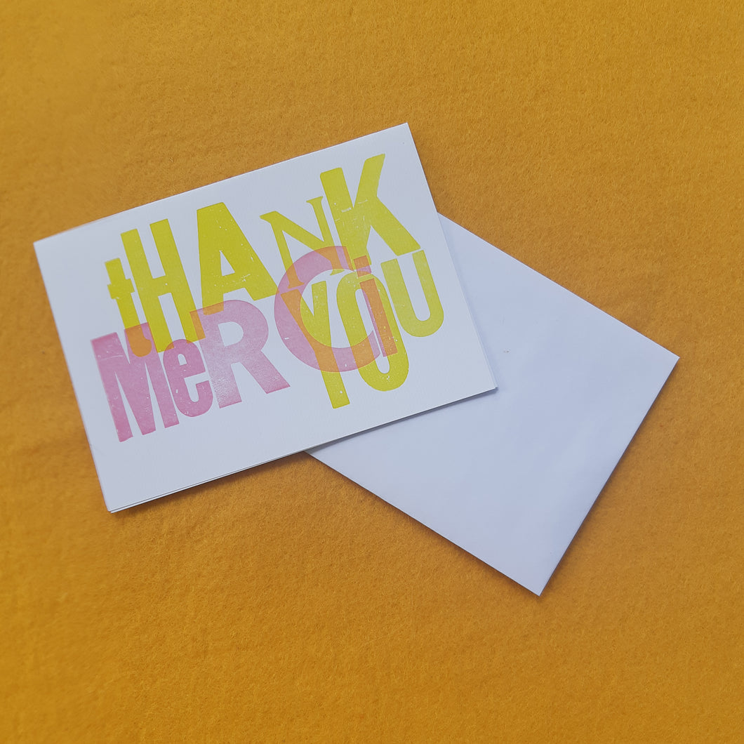 Thank You Card/Merci