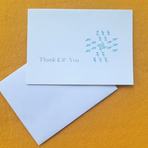 Thank You Card, Fingers