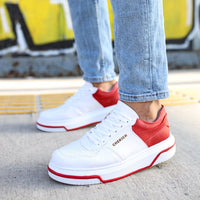 Chekich Red & White Sneakers (CH075)