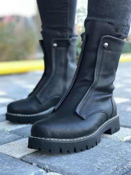 Chekich CH027 Black Long Boot