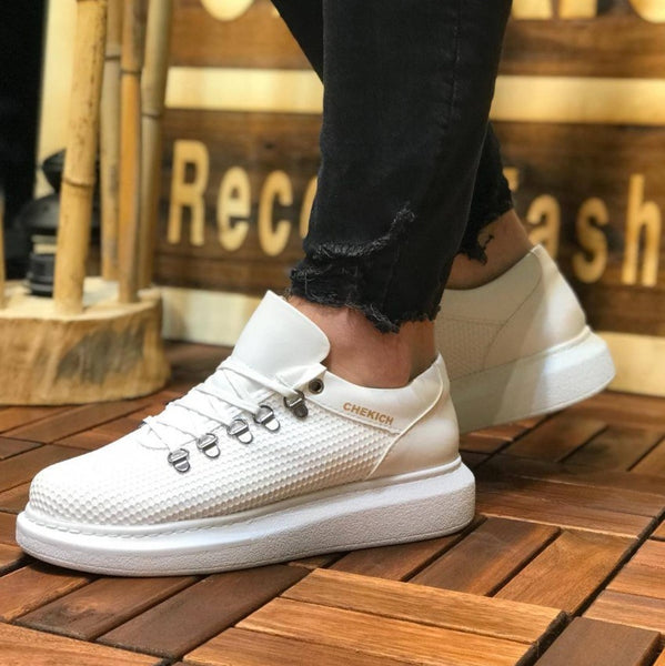 Chekıch CH021 Fantasia White Male Sneakers