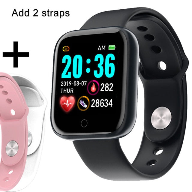 Touch Screen Pedometer Fitness Tracker Watch