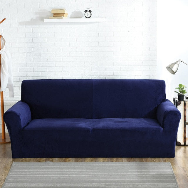 High Quality Velvet Plush Sofa Cover