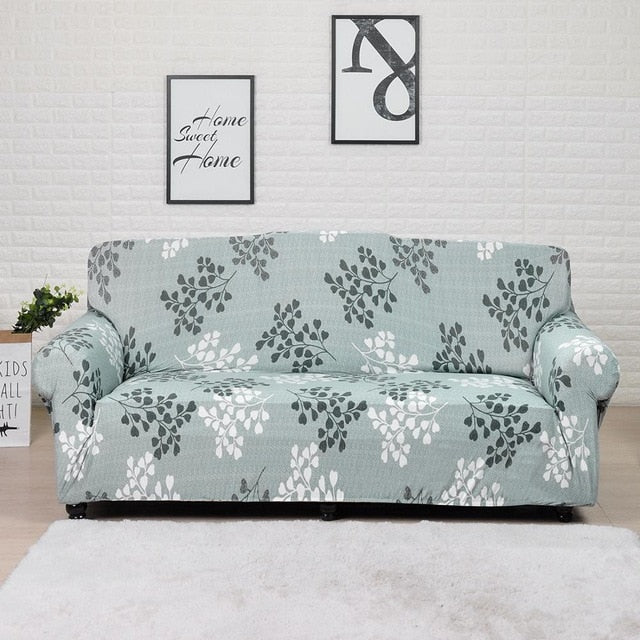 Spandex Corner Couch Slipcover