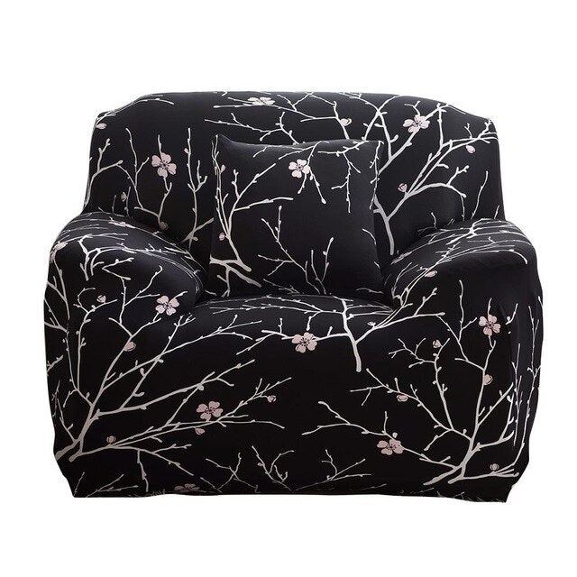 Sure Fit Print Stretchy Chair Sofa Cover Slipcover U