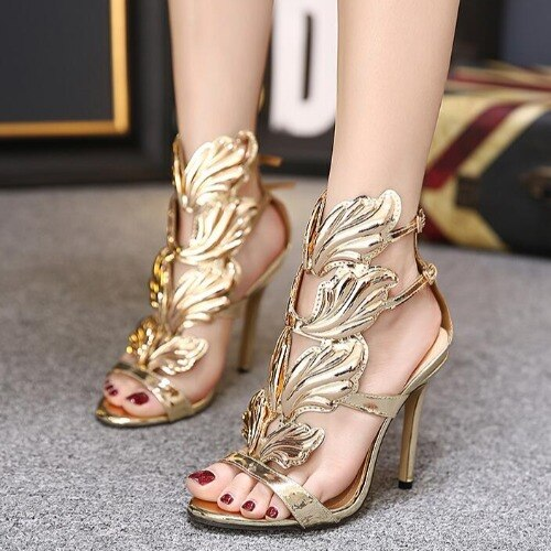 Women's High Heels Wing