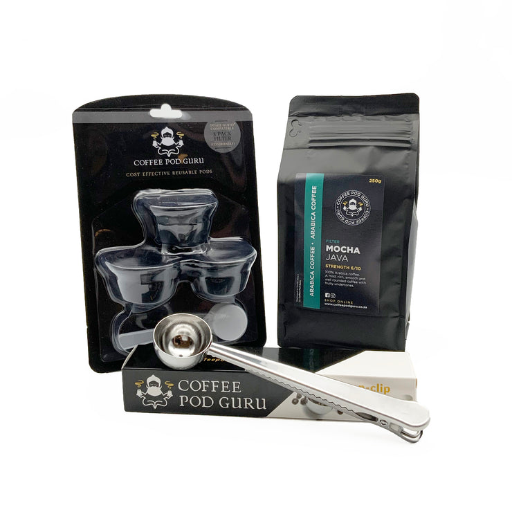 Dolce Gusto® Reusable Pod & Coffee Combo