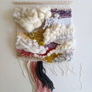 """Sandy"" Woven Wall Hanging - Weaving"
