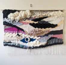 "Load image into Gallery viewer, ""Bird's-Eye"" Woven Wall Hanging - Weaving"