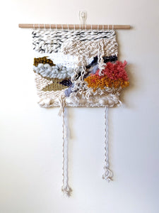 """Heartbreak"" Woven Wall Hanging - Weaving"