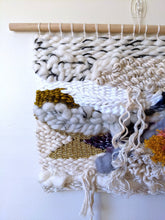 "Load image into Gallery viewer, ""Heartbreak"" Woven Wall Hanging - Weaving"