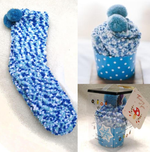 Load image into Gallery viewer, 1 Pair Thick Cute Winter Fuzzy Slipper Socks With Cupcake Gift Box Cute & Colorful