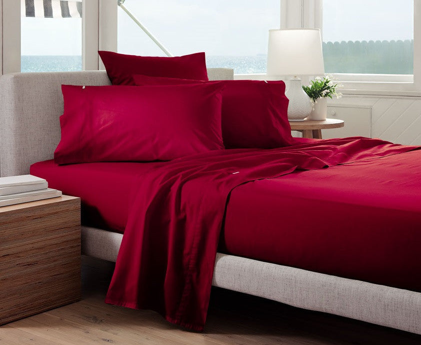 180 Thread Count Smooth Percale - Flat Sheets