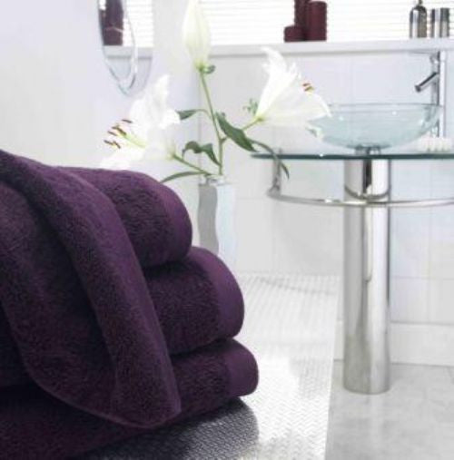 750Gsm Boutique Towels Damson