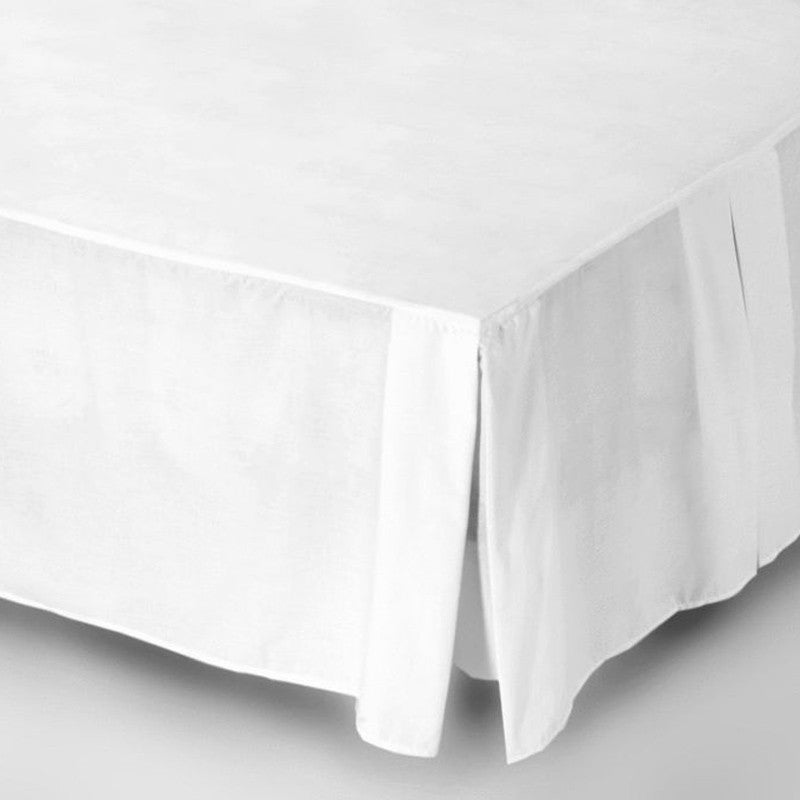 200 Thread Count Percale Box Pleat Valance Sheets