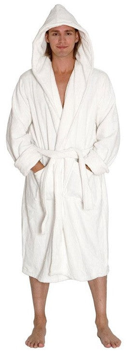 100% Cotton Terry Hooded Bathrobes