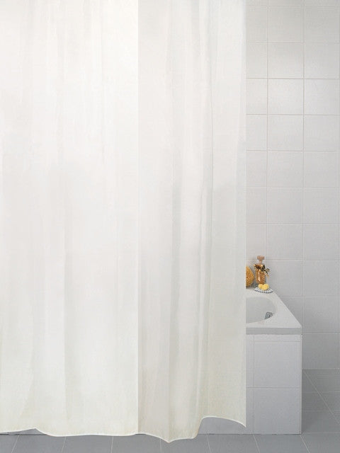 Plain Polyester Shower Curtains