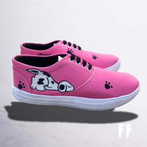 Funkeets Unisex Buddy Sneakers- Heart Is Where The Paw Is!