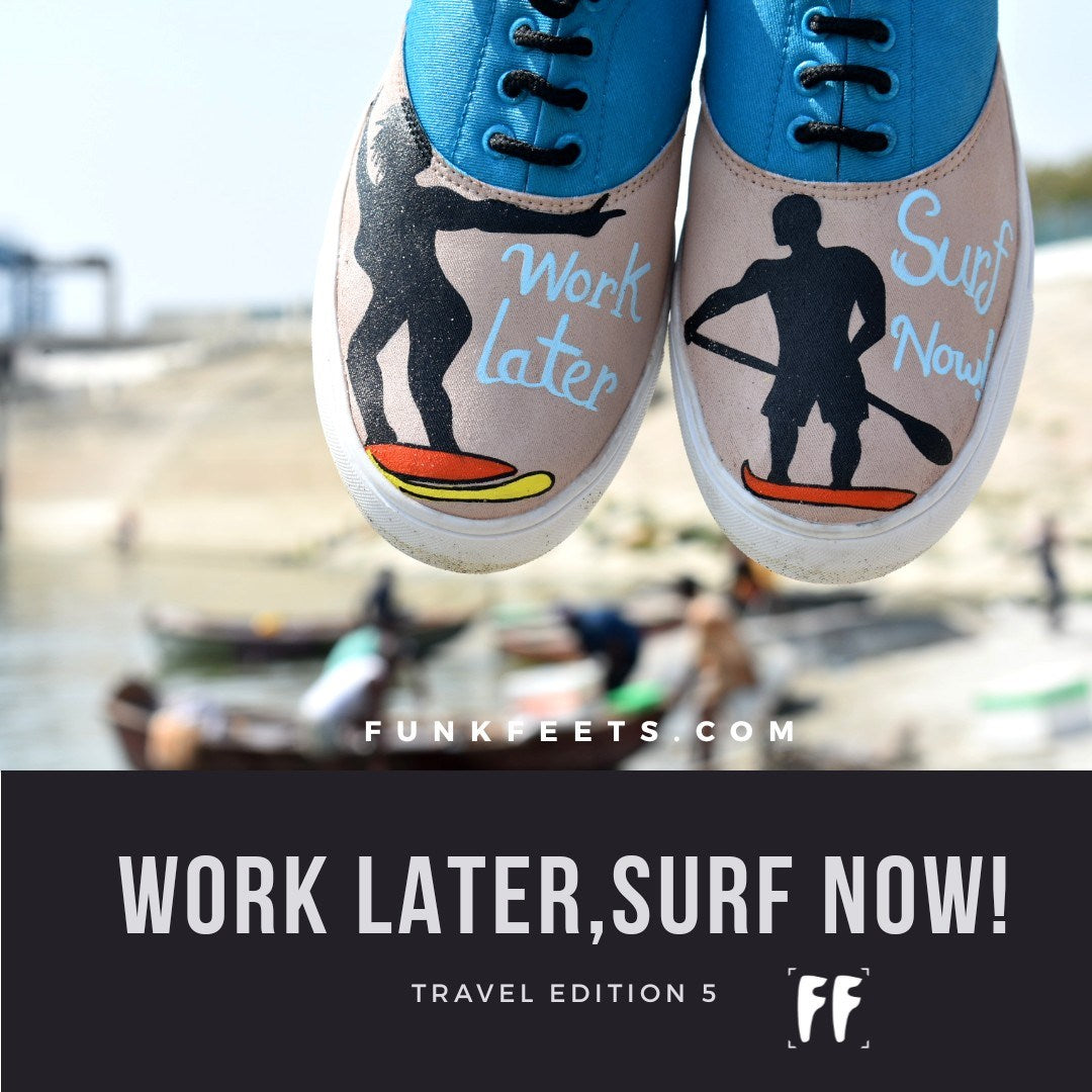 Travel Edition 5- Happy Surfer