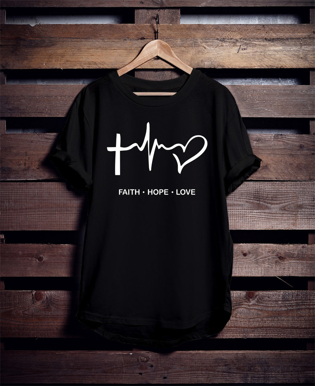 Faith Hope Love Unisex Tee