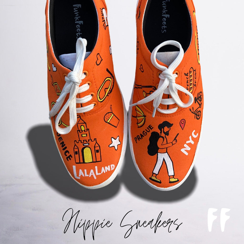 Hippie Sneakers By Funkfeets