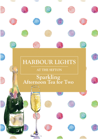 Sparkling Afternoon Tea for Two at The Sefton