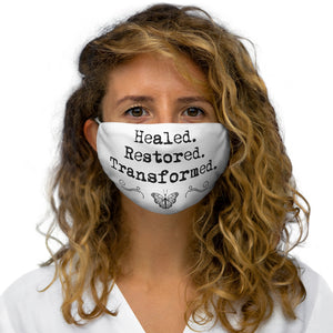 Healed Snug-Fit Polyester Face Mask